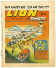 Lion 27th Mar 1971 (mid-grade copy) Black Max, Spellbinder, Steel Commando