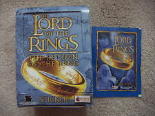 THE LORD OF THE RINGS Return of the King 1 Box 50 Packets of Stickers ROTKLOTR
