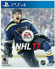 NHL 17 * PLAYSTATION 4 * BRAND NEW FACTORY SEALED!