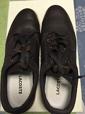 Brand New Lacoste Women Leather Casual Flats