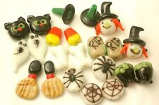 Handmade Lampwork Glass Halloween Beads Mix Lot (22)