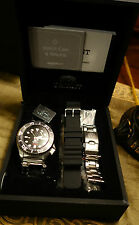 Orient Black Diver Automatic Watch  CFD0C001B - with Box, Papers, extra bracelet