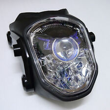 Streetfighter Street fighter Motorcycle Headlight Big Bike Racing Sport Black
