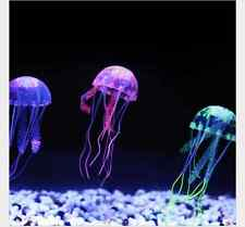 3pcs Artificial Glowing Effect Fish Tank Decoration Aquarium Jellyfish US Seller