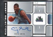 CRAIG SMITH 2007/07 FLEER HOT PROSPECTS SWEET SELECTIONS AUTOGRAPH 38/50 SP $15