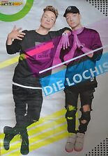 DIE LOCHIS - A1 Poster (XXL - 80 x 55 cm) - YouTube Clippings Fan Sammlung NEU