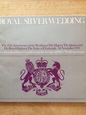 Royal Silver Wedding (1972) Souvenir stamp collection