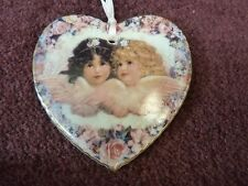 Heavenly Hearts Angel Ornament Sweetness & Grace First Issue Bradford Ex (o1399)