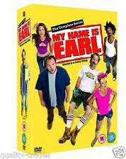 ❏ MY NAME IS EARL Series 1 - 4 DVD + BONUS EXTRAs Complete Collection ❏ 1 2 3 4