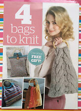 4 Bags to Knit - 4 patterns - Supplement from 'Knit Today' Mag Original