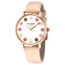 Kate Spade Metro Makeup White Dial Ladies Watch KSW1253