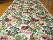 Floral Cotton Barkcloth Fabric Richloom 2.75 yd Panel