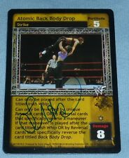 Lita Signed 2002 WWF Comic Images Raw Deal Card WWE Autograph Pro Wrestling Diva