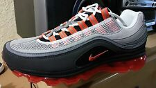 Nike Air Max 24-7 mens sz 8.5 NIB Rare Exclusive Neutral Grey/Orange Blaze
