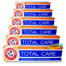 6x Arm & Hammer TOTAL CARE 125g Cavity Protection