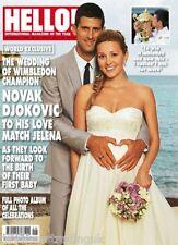 HELLO! MAGAZINE No 1337: 21 July 2014 (Novak Djokovic Wedding)