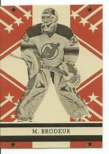 11-12 OPC O-Pee-Chee Martin Brodeur Retro Blank Back Mint Rare