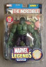Marvel Legends HULK GREEN Series 1 Angry Savage Classic Ultimate Avengers RARE