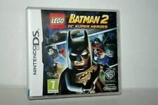 BATMAN 2 DC SUPER HEROES GIOCO USATO NINTENDO DS EDIZIONE ITALIANA PAL FR1 37538