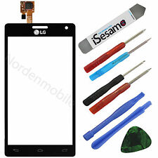 LG Optimus P880 4X HD Touchscreen Glas Display Digitizer Schwarz + Klebefolie