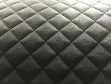 Diamond Quilted Faux Suede Car Interior VW T5 Van Panel Fabric Carpet Lining