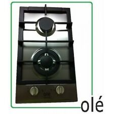 Ole 30cm (300mm) Stainless Steel Heavy Duty Cast Iron GAS Cooktop - GH-302AS