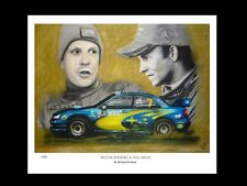 PETER SOLBERG & PHIL MILLS: WRU -  FINE ART PRINT Signed by Artist
