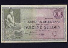 Netherlands 1000 Gulden 1938  P-48  VF