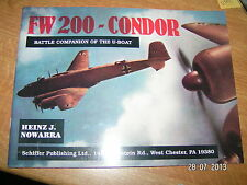 ,?, Schiffer FW 200 Condor Battle Companion of the U-Boat Nowarra