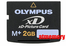 Olympus 2GB xD Picture Card Type M Plus M+ Memory Card for Olympus / Fujifilm