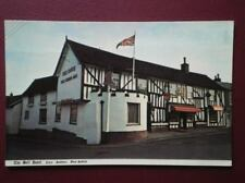POSTCARD SUFFOLK CLARE - THE BELL HOTEL FRONT VIEW