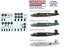 RAAF B-25D&J Mitchells Decals 1/72 Scale N72020