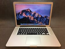 "Apple MacBook Pro A1286 15.4"" Laptop MD103LL/A (June, 2012) 2.3GHz i7 8GB 500GB"