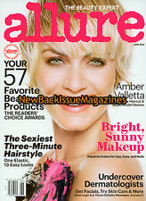 Allure 6/14,Amber Valletta,June 2014,NEW