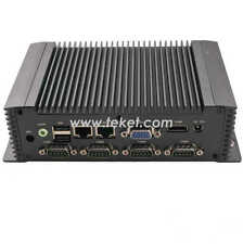 Industrial Mini PC IPC N26ECM atom n2600,dual core1.6ghz 2G 32G wifi 6*COM 2*LAN