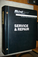 1997 MITCHELLS IMPORTED ELECTRICAL SERVICE MANUAL SHOP BOOK CAR TRUCK VOLUME ONE