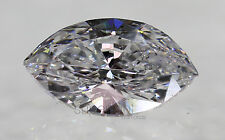 Certified 0.61 D VS2 Marquise Enhanced Natural Loose Diamond 7.69x4.64mm VG VG