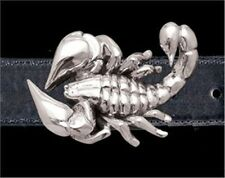 Scorpion Belt Buckle - Sterling Silver