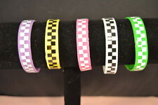 Lot of 5  WOMEN - GIRLS STRETCH  BRACELETS  Brand New Fashion Jewelry USA SELLER