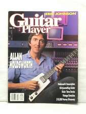 GUITAR PLAYER MAGAZINE ALLAN HOLDSWORTH DAVE DAVIES ERIC JOHNSON MARCH 1990