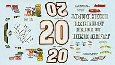 #20 Joey Lagano Home Depot 2010 All Star Race 1/25th - 1/24th Scale Decals