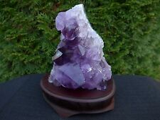 AMETHYST BRAZILIAN Quartz Crystal Cluster: Geodes - Cathedrals - Natural Trim