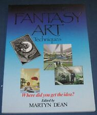 The Guide To Fantasy Art Techniques  Softcover Book  Martyn Dean