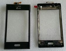 Touch Touchscreen Digitizer Vetro Display Flex con cornice LG Optimus l5 e610 e612