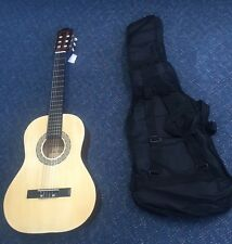 Beginner Acoustic Guitar And Case NEW - 3/4 Size