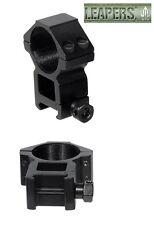 UTG 30mm / 2 PCs High Profile Picatinny / Weaver Rings  # RGWM-30H4  New!