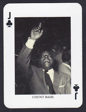 Count Basie,Jazz Legends Single playing card