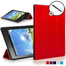 Forefront Custodie Rosso Pieghevole Smart Cover Acer Iconia One 7 B1-780 Stilo
