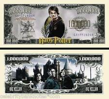 Harry Potter Memorabilia - $1 Million Gringotts Collectors Banknote/Bill