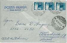 ITALIA REPUBBLICA: DEMOCRATICA su BUSTA 1943